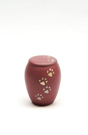 Mosadzná urna pre zvieratká